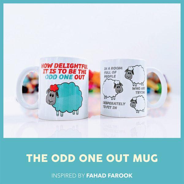 THE ODD ONE OUT MUG