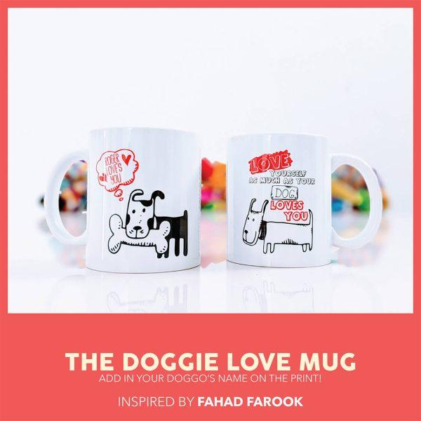 THE DOGGIE LOVE MUG