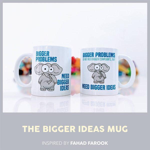 THE BIGGER IDEAS MUG