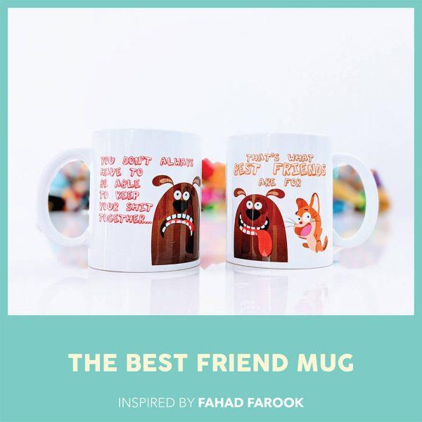 THE BEST FRIEND MUG