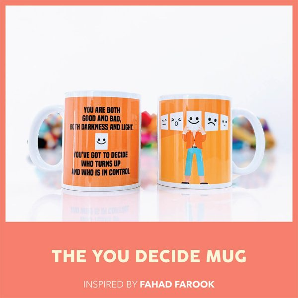 THE YOU DECIDE MUG