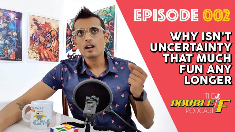 Podcast   Episode 02: Why isn't uncertainty that much fun any longer