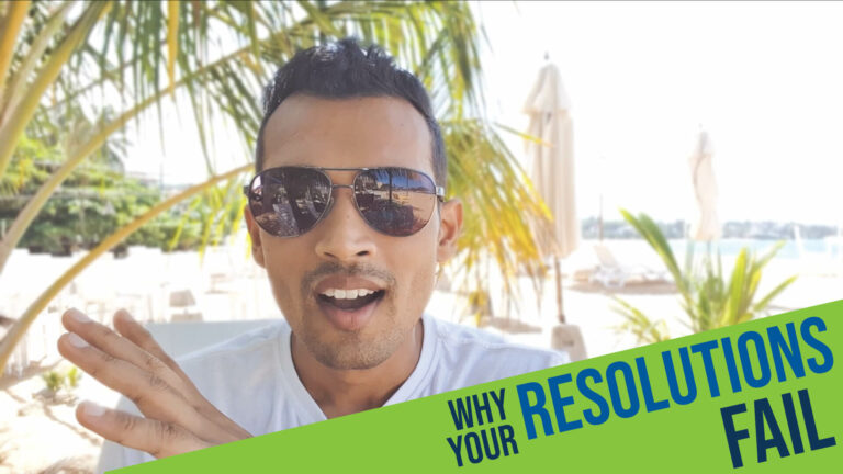 Your mental spotlight is why most of your resolutions fail!
